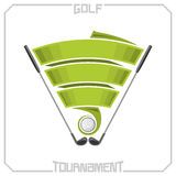 Golf tournament Royalty Free Stock Photography