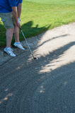 Golf tournament on the Costa del Sol, Malaga, Spain Royalty Free Stock Photos