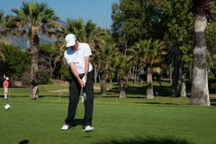 Golf tournament on the Costa del Sol, Malaga, Spain Royalty Free Stock Photography