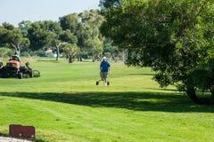 Golf tournament on the Costa del Sol, Malaga, Spain Stock Photo