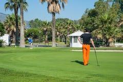 Golf tournament on the Costa del Sol, Malaga, Spain Royalty Free Stock Photo