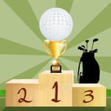 Golf tournament Royalty Free Stock Image