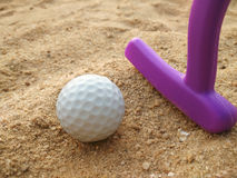 Golf toy Stock Photography