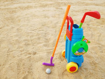 Golf toy Royalty Free Stock Photography