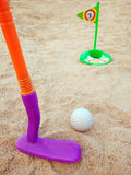 Golf toy Royalty Free Stock Images
