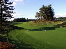 Golf tradizionale della Scozia Fotografia Stock Libera da Diritti