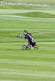 Golf trolley Stock Images