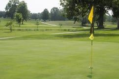 Golf turf stock photo