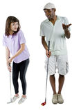 Golf Tutorials Royalty Free Stock Photo