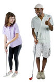 Golf Tutorials Stock Image