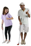 Golf Tutorials Stock Image