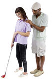 Golf Tutorials Royalty Free Stock Photos