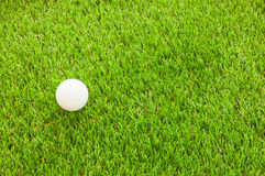 Golf- und Grünfeld Stockfotografie