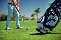 Golf vacation Royalty Free Stock Photography