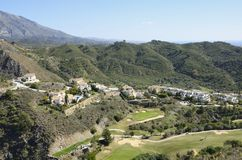 Golf Valley Stock Image