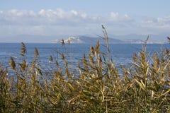 Golf van Cagliari - Sardinige Royalty-vrije Stock Afbeeldingen