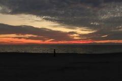 Golf van de Zonsondergang van Mexico Stock Afbeeldingen