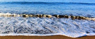 Golf van het overzees Stock Afbeeldingen