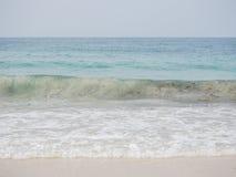 Golf van het overzees Stock Foto's
