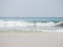 Golf van het overzees Stock Afbeelding