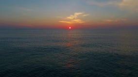 Golf van het Toenemen Zon II stock footage