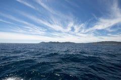 Golf van La Napoule, Frankrijk stock foto's