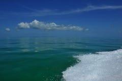 Golf van motor op water Royalty-vrije Stock Foto