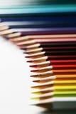 Golf van potloden Royalty-vrije Stock Afbeeldingen