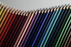 Golf van potloden Royalty-vrije Stock Afbeelding