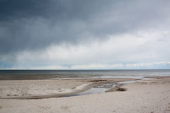 Golf van Riga Stock Fotografie
