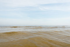 Golf van Riga, Oostzee Royalty-vrije Stock Afbeeldingen