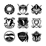 Golf Vector Icons 17 Royalty Free Stock Photo