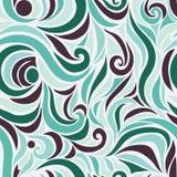 Golf vector naadloos hand getrokken patroon vector illustratie