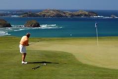 Golf - viruta Foto de archivo