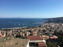 Golf von Neapel stockbilder