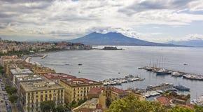 Golf von Neapel Stockbild