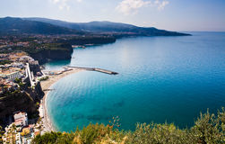 Golf von Neapel Süd Stockfoto