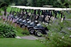 Golf-Wagen Stockfoto