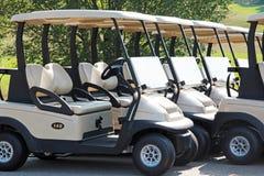 Golf-Wagen lizenzfreies stockfoto