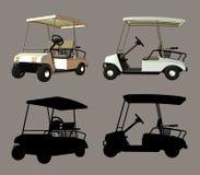 Golf-Wagen Stockbilder