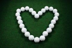 golf walentynki Zdjęcia Stock