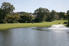 Golf Water Royalty Free Stock Images