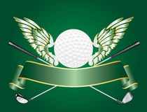 Golf wings Royalty Free Stock Photo