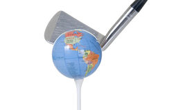 Golf World Royalty Free Stock Photography