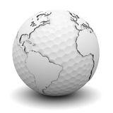 Golf World Royalty Free Stock Images