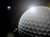 Golf world Royalty Free Stock Photos