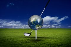 Golf World Tournament Royalty Free Stock Photos