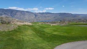 Golf a wow Fotografie Stock Libere da Diritti