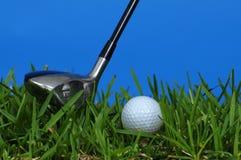 Golf y club Fotos de archivo libres de regalías