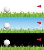 Golfabbildung Stockfotografie